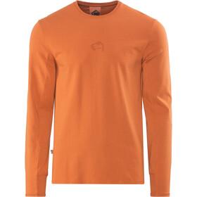 E9 Scar LS Shirt Men brick